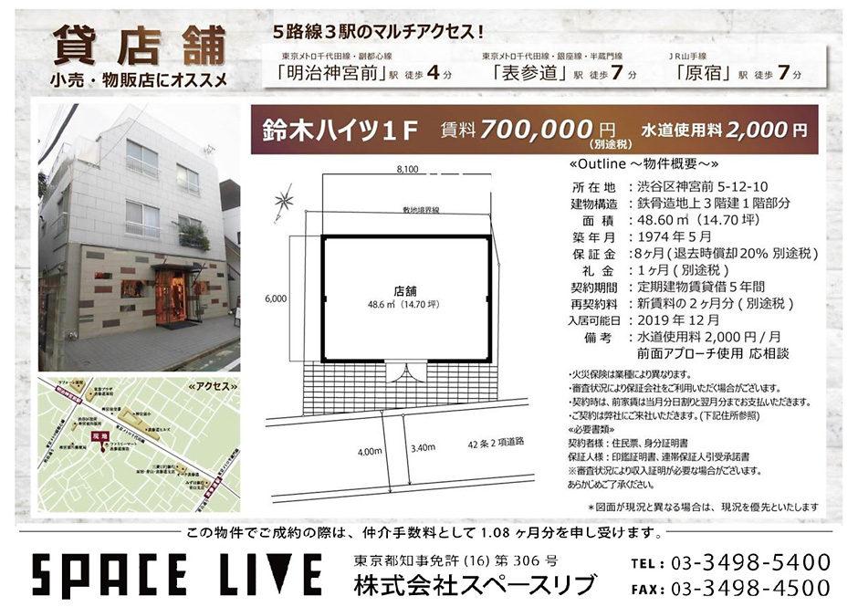 神宮前5-12-10 鈴木ハイツ 1F